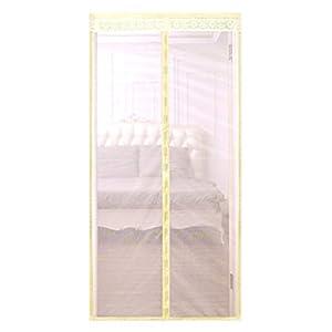 Zanzariera magnetica porta in fibra di vetro rinforzata, rete scorrevole, rete completa con gancio, dimensioni adatte… 9 spesavip