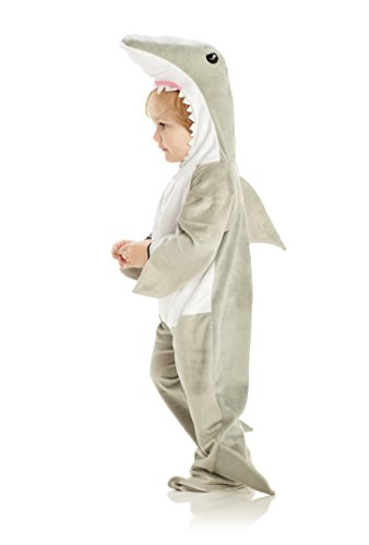 Underwraps Baby's Shark, Grey/White, Large