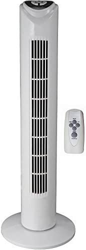 7,5 Stunden Timer und Oszillation Standventilator S/äulenventilator Windmaschine L/üfter Gebl/äse Luftk/ühler Syntrox Germany TVR-29W Turmventilator Tower Ventilator mit Fernbedienung