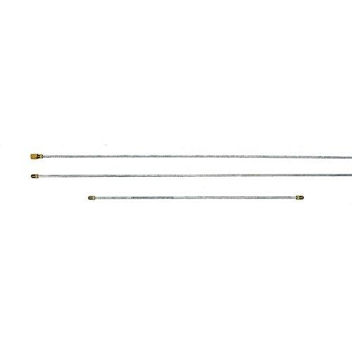 Eckler's Premier Quality Products 57132447 Chevy Brake Line Set For Dual Brake Master Cylinder & GM Style Proportioning ()