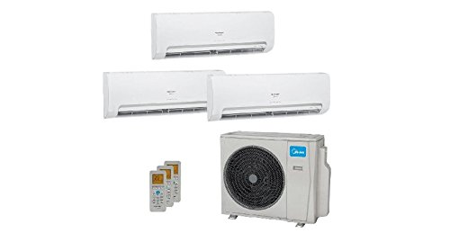 Ar Condicionado MultiSplit Springer Midea Inverter 3x12000 BTUs Quente Frio 220V 42MBMA12M5