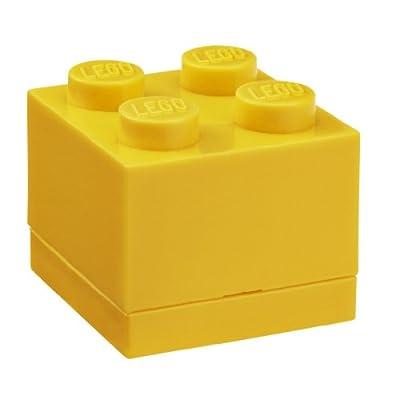 LEGO Mini Box 4 Bright Yellow: Room Copenhagen: Toys & Games