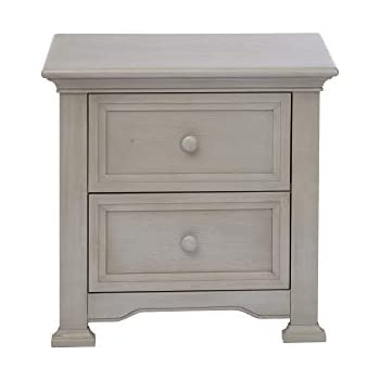 Amazon.com: Centennial Chatham 2 cajones nightstand ...