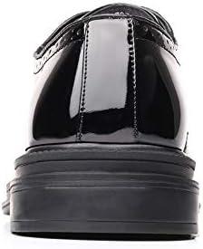 Best-choise Moda Oxford para Hombres Clásico Casual Tallado Cómodo con Cordones de Charol Brogue Zapatos Llamativo