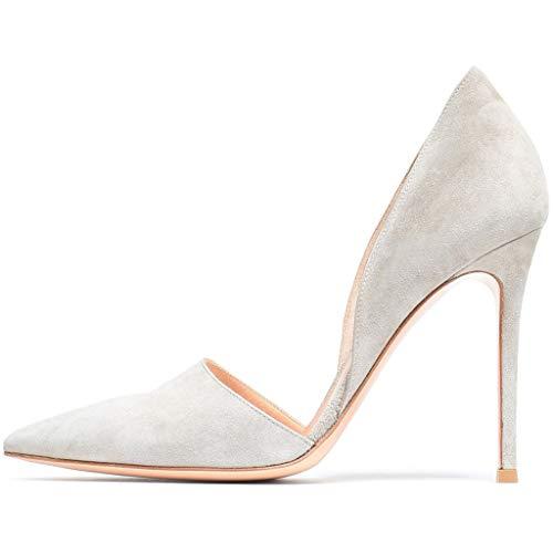 46 Talons Talon white À Dames 8cm hauteur Du Pour Lff Sandales ff Chaussures Mode De Mariage Hauts Pointus Talon Banquets 5aUxqHw8