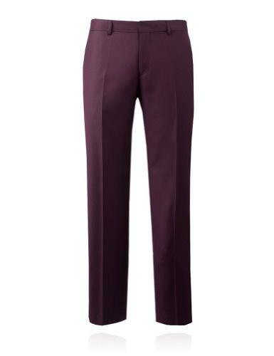 Selected Homme Men's Slim Fit Tuxedo Pants