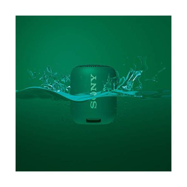 Sony SRS-XB12 Enceinte Portable Bluetooth Extra Bass Waterproof - Vert 3