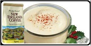 New England Coffee Eggnog -