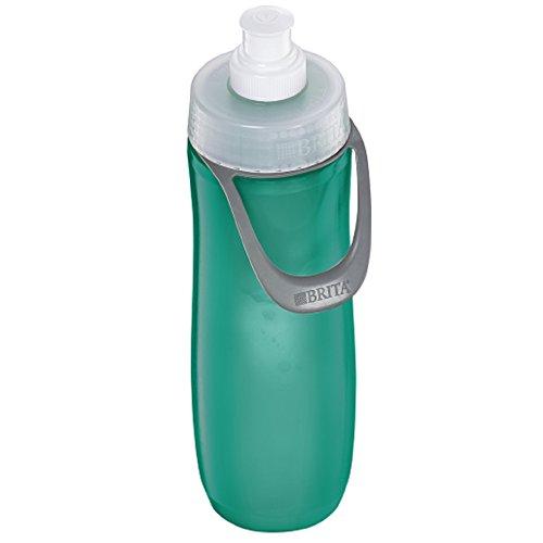 BRITA Water Filtration Water Bottles Sport 23oz (20 oz, Green (Sport))