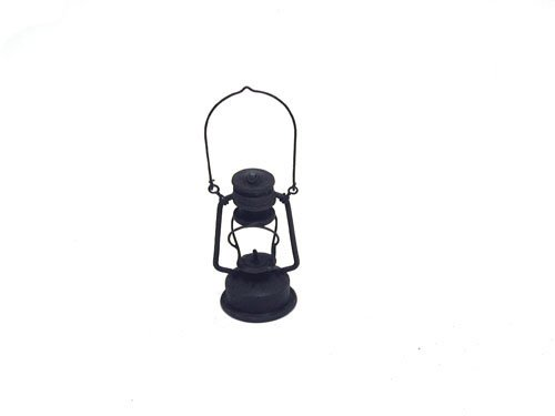 Craft Outlet Decorative Oil Lamp, 3-Inch, Black, Set of 2 by Craft Outlet Inc