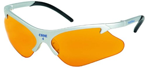 (Smith & Wesson Code 4 Safety/Shooting Glasses, Smith Wesson SW265ORI Platinum Frames, 3011689)