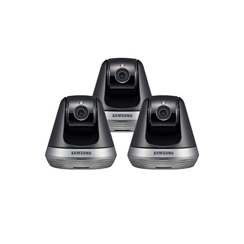 Samsung SNH-V6410PN SmartCam Pan/Tilt Full HD 1080p Wi-Fi IP Camera Bundle Triple Pack (Renewed)