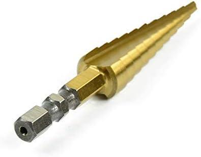 Gulakey High-speed Steel Drill Pagoda Stepped Hexagonal Shank Reamer High-speed Steel Drill Stepped Reamer 3-13mm Cutting tool