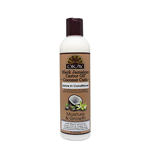Okay Black Jamaican Castor Oil Leave In Conditioner, Coconut