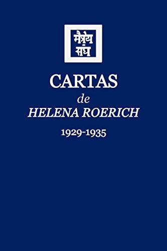 Amazon.com: Cartas de Helena Roerich I: 1929-1935 (Spanish ...