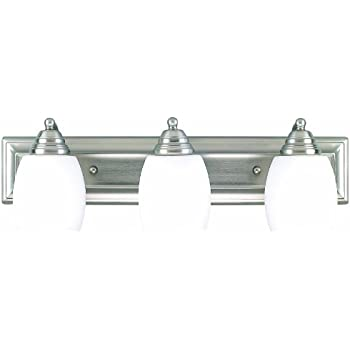 Canarm IVL259A03BPT 3 Light Griffin Bathroom Bar Light Vanity