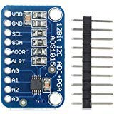 TOOGOO(R) CJMCU-ADS1015 ultra-small 12-bit precision analog-to-digital converter ADC development board module