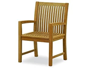 Atlanta Teak Furniture   Teak Arm Chair   Extra Wide