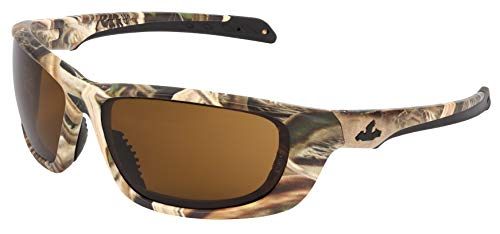 - Mossy Oak Blades UD1 Brown Max6 Anti-Fog Lens Safety Glasses, ANSI Z87+