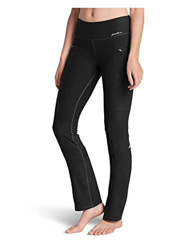 Eddie Bauer Women's Trail Tight Pants, Black Regular L ()