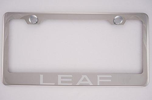 license plate frame nissan leaf - 4