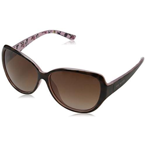 6aa2143b35 Ted Baker Sunglasses Shay, Gafas de Sol para Mujer, Marrón (Tort/Pink
