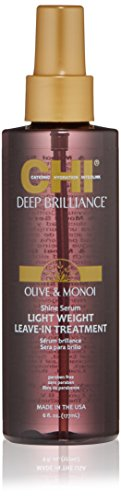 CHI Deep Brilliance Serum Light Weight Leave-in Treatment, 6 Fl Oz