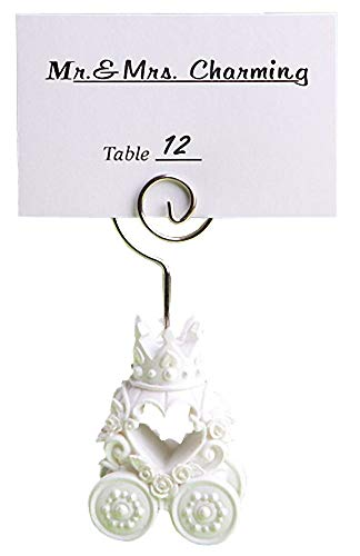Royal Coach Design Place Card Holder Favors, 80