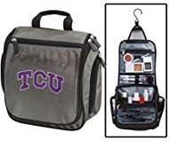 Texas Christian University Toiletry Bags or Mens Shaving Kits HANGABLE Travel Bag