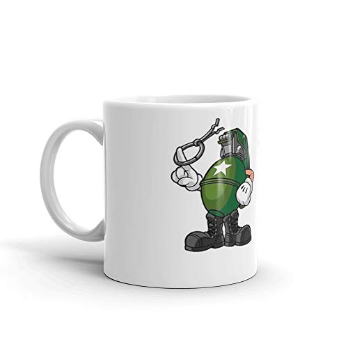 Marcus Munitions Grenade - Borderlands 2 (Large) 11 Oz White Ceramic