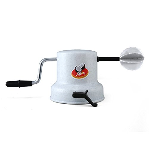 Anjali Plastic Coconut Scrapper with Vacuum Base, White Price & Reviews