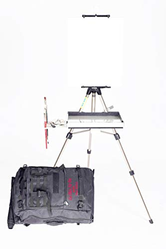 Advanced Series En Plein Air Pro Oil & Acrylic Easel Package with Sliding Shelf ()