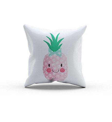 Pineapple Friends Pillow, Pink Pineapple Pillow, Nursery Pillow,Throw Pillow, Kids Throw Pillow, Children's Pray Camera Pillow