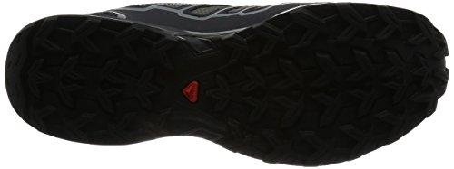 Salomon X Ultra 2 Gtx, Zapatillas de Deporte Exterior para Hombre Gris (Quiet Shade/Black/Lime Punch.)