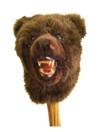 (Authentic Animal Golf Headcover 460 cc Grizzly Bear OM)