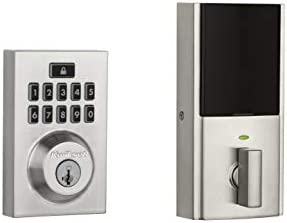 Kwikset 99140-019 SmartCode 914 Modern Contemporary Smart Lock Keypad Electronic Deadbolt