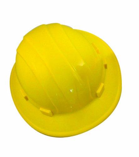 Bon Tool Erb 19502 Full Brim Hard Hat, Yellow