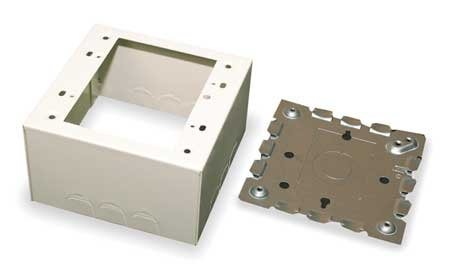 Extra Deep Device Box, Ivory, Steel, Boxes