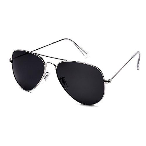 Espejo Proteja polarizada exterior de sol Espejo Gafas conducción JIU sus de Moda compras Gafas 02 Playa 01 de Color Gafas ojos Ms sol Viajes Espejo de Personalidad Luz Gafas zwgqO6