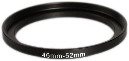 Caméra Anneau Step Up Filtre Adaptateur 46 mm à 52 mm