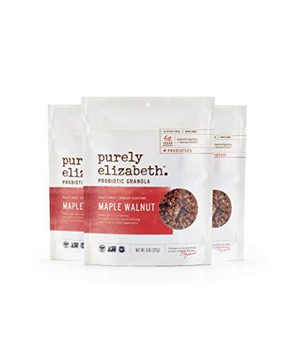 purely elizabeth Probiotic Gluten Free Granola, Maple Walnut, 3 ()