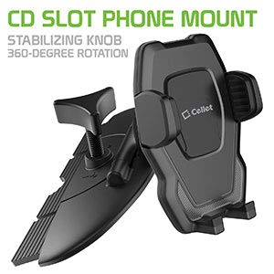 Cellet Air Vent Mount with 360 Degree Rotation and Tightening Knob Holder Compatible for LG Q7+//Stylo 4//Q Stylus//V35 ThinQ//V30//G6//G5//Nexus 5X//Q7+//V20//K20//Aristo//Harmony//Premier Pro LTE