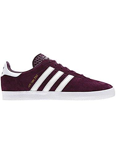 adidas Men 350 Fitness Shoes, White Purple