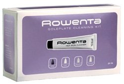 Rowenta ZD110 Non-Toxic Stainless Steel Soleplate Cleaner Kit for Steam Irons with Cleaning and Polishing Cloth