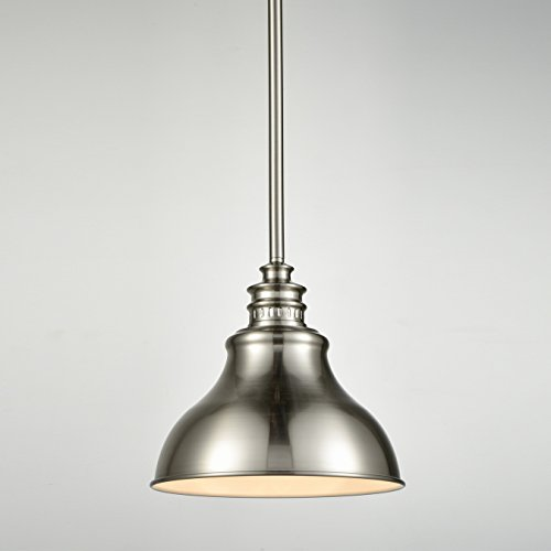 Brushed Nickel Kitchen Pendant Lighting
