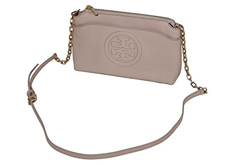 Crossbody Logo Chain Burch Leather Tory Handbag TB Bombe Bag SxY1xvwI
