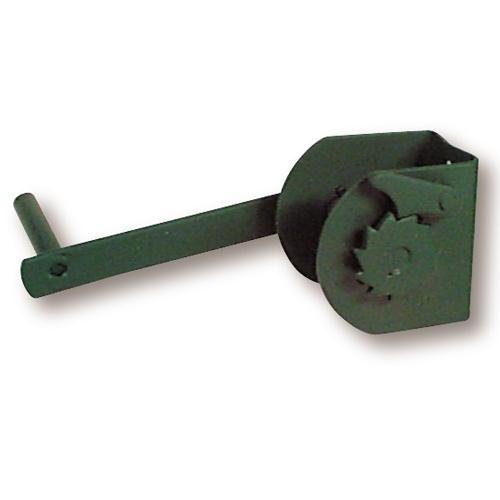 Steel Tennis Posts (Tennis Post Reel, Green)