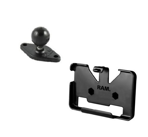 RAM-HOL-GA34U Cradle w/Ball for Garmin Nuvi 1300 1310T 1350 1350T 1370T 1390 T 2455LT 2455LMT 2475LT & - Ram 1350