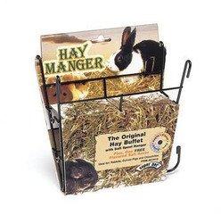 Hay Manger With Salt Hanger