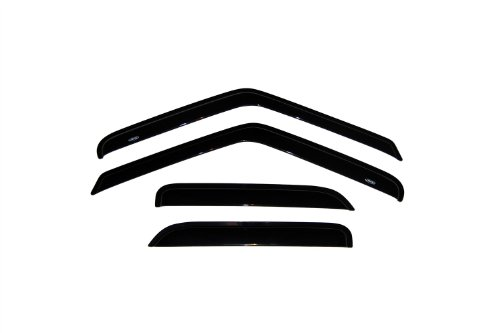 Auto Ventshade 94644 Original Ventvisor Side Window Deflector Dark Smoke, 4-Piece Set for 1995-2005 Chevrolet S10 Blazer & GMC S15 Jimmy, 1998-2001 GMC Envoy, 1996-2001 Oldsmobile Bravada
